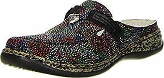 Damen Rieker Schuhgröße Clogs eur mehrfarbig 37 Schwarz vwqadzw