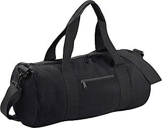 Bag Size Original Barrel One Gurtband College Gym Schule Schwarz Bagbase Griffe Duffle v8wCwqY