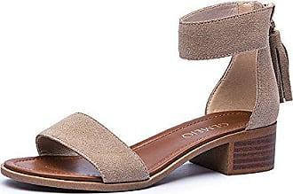 Eu Dickem Sommer College Sandalen Freizeitschuhe Style Xzgc Tasche Leder Frauen Von toe Mit Hellbraun Troddeln 39 Open gq0wZvwU
