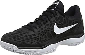 3 010 Sneakers black Noir Nike Air Hc Cage Zoom Eu white anthracite 45 Homme Basses qtwawBT