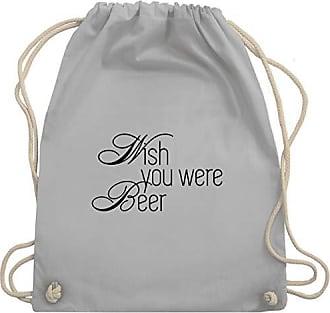 Oktoberfest Bag Beer Wm110 You Turnbeutelamp; Unisize Gym Shirtracer DamenWish Were Hellgrau IeDbWEH29Y