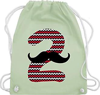 Gym Turnbeutel Unisize Bag Shirtracer Junge Moustache Geburtstag Grün 2 Pastell Wm110 Kind amp; wqqBRnaPO