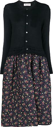 Dress Cardigan Quilted Comme Garçons Noir Floral Des HqwAXU