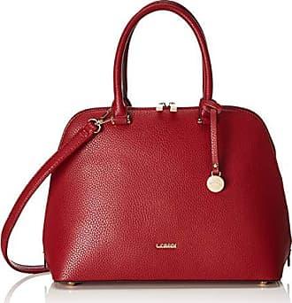 Rojo T Poliuretano Mujer 5x26x34 Talla De 13 credi Color L H Hombro Bolso 2086 Cm b X pgwXxaq