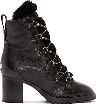 Bottes Jimmy London Noires Choo Hillary 65 1UEUAn