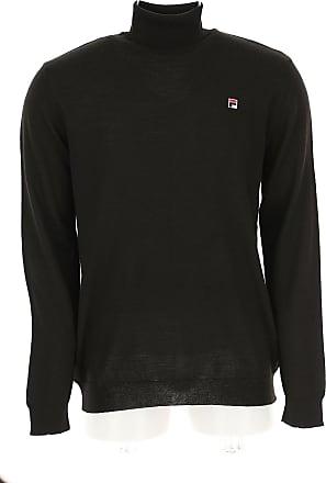 Fila For Sweater Jumper Black Men 2017 On Xl Sale Wool qqvrnaxW