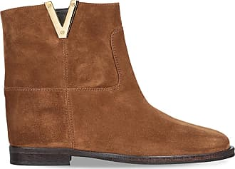 Brown Suede Ankle Via 15 Roma Boot Eqxxa8