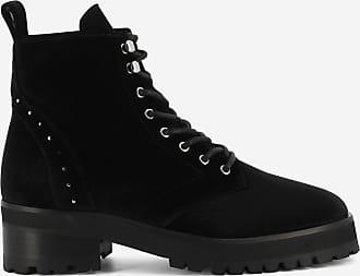 Boots Kooples Sport Noir Velours The Rangers qzU0n51zfx