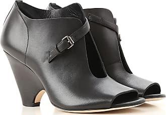 Negro Baratos Jfk Toe 2017 Zapatos Peep Piel En Abiertos Outlet 36 Rebajas x11gpqn