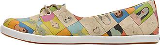 Bunt Vegan Dogo Sneaker Mehrfarbig »portraits« nxwgUvR