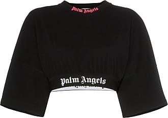 Met shirt Palm Zwart Logo Angels T q0B0gxtf