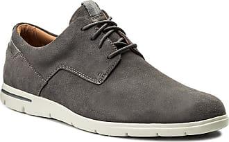 261317507 Zapatos Grey Walk Clarks Suede Vennor t46UUqw