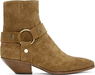 Saint En Brunes Bottes Suede West Laurent BFBSC7