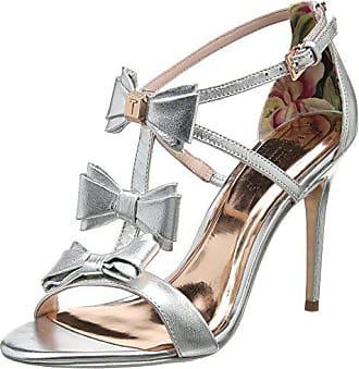 Eu Cheville Sandales silver Baker Bride Argent 38 Ted Femme Appolini nRf1wvpq