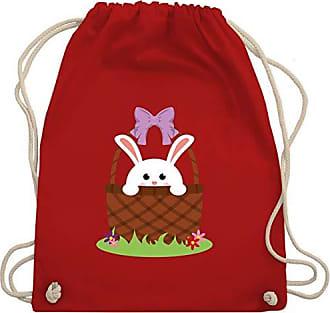 Kinder Anlässe Osterhase Turnbeutel Korb Shirtracer Gym Rot amp; Im Bag Wm110 Unisize f5xZCwq