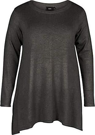 Pullover Rosso Medium 46 1681 taglia Produttore 48 Zizzi L Camicia Donna Mcama s fudge pqFZRwYtx