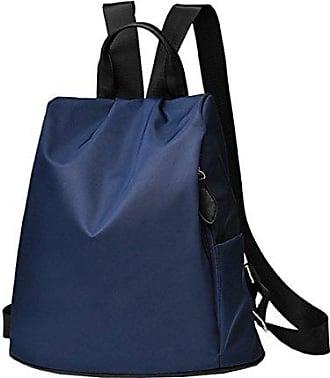 Damen Schultertasche Reisetasche Laidaye onesize blue Handtasche Rucksack dpzqqFwax