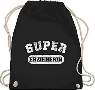 Sonstige Schwarz Berufe Super Turnbeutel Vintage amp; Gym Bag Unisize Wm110 Erzieherin Shirtracer 4dwBq4