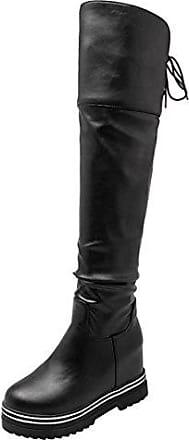 Aiyoumei®Stylight Von Damen Stiefel In Schwarz If6y7Ybgvm