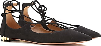 Aquazzura 5 Ballerina In 35 Suede Outlet Ballet Black For Sale Flats 2017 On Shoes Women rxqrEpCw6