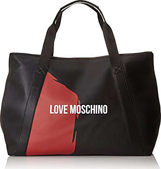 rossoBolso Borsa Nero Cmb red37x22x60 Moschino H X T Pu Saffiano HombreVarios Love Coloresblack ZTXOiPku