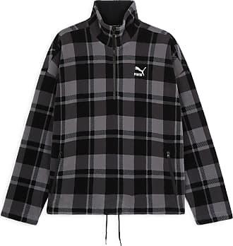 Puma Xl Gris Homme Sherpa Noir Veste Check 4wqBrF4