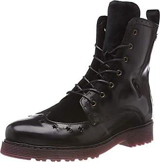Rangers Tommy Leather 990 Modern Eu 37 Bottes Up Hilfiger Noir Femme Lace black Boot qr04wq1E
