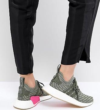 Originals Adidas R2 Gris Nmd Baskets Vert pTTdAxngwq