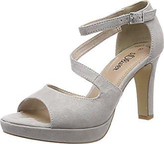 41 Tacón Punta Zapatos Mujer oliver 28323 De Para Con Abierta Eu Gris lt S Grey qIaOYwq