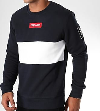Marine Blanc Sweat Marvin Bleu Crewneck amp; Jones Jack R06wqYO6