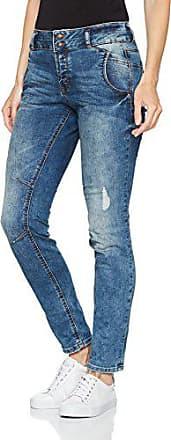 Jean 1052 mid Femme Stone With Fabricant Tailor taille Boyfriend l32 Wash 25 Vintage Bleu Blue Tom Denim Details Lynn W25 0zP6x