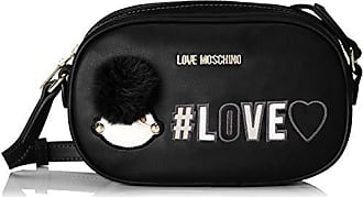 b Mujer T Y 6x13x21 X Pu Negro Love nero De Moschino H Hombro Shoppers Borsa Bolsos Cm AFnOq8