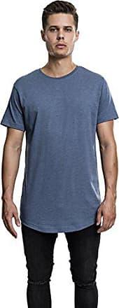 stone Shaped Camiseta Tee Blau Melange Urban Long Para Hombre Classics Blue 1158 Large gBRfzn