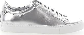 Urban Glattleder Givenchy Street Silber Metallisch Sneaker Swwp1Ov5W