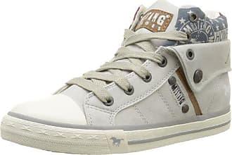 Hautes Cassé 36 Eu Blanc 1146 203 Femme 203 Mustang Ice 503 Sneakers wnvAWIW6qC