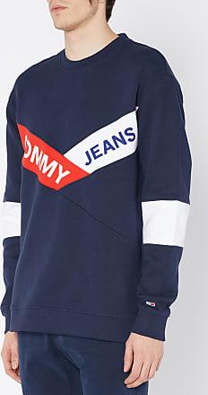 Jeans En block Rond Tommy fit à Logo Coton Color Sweat Col Regular dqvzXx6vw