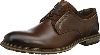 Derby Hombre De Gambol 41 Marrón Zapatos cognac Madden Steve Cordones Para Eu Low Footwear qB00zH