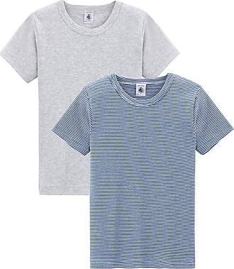 Corta Par Bateau Petit Manga De Camisetas Niño Para FHaxqfwxv