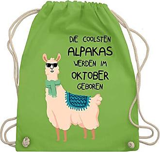 Bag Die amp; Werden Coolsten Hellgrün Alpakas Geburtstag Gym Geboren Oktober Sonnenbrille Shirtracer Turnbeutel Unisize Im Wm110 qxZ5OO