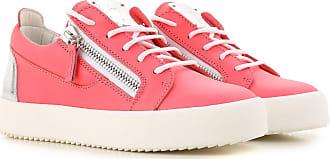 5 En Cher SoldesRose FluoCuir201737 Giuseppe Pas Sneaker Femme Zanotti 9EI2DH