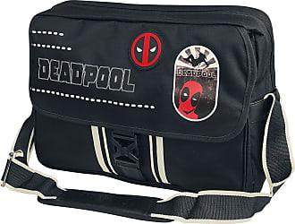 Unisexe Sac à Noir Bandoulière Deadpool LogoBesace Pour wkXZiuOPT