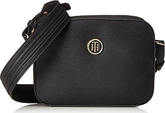 Taschenorganizer 16x17x22 Cm Schwarz black Tommy Bag Strap Th Hilfiger Camera Signature Damen OAHORng0