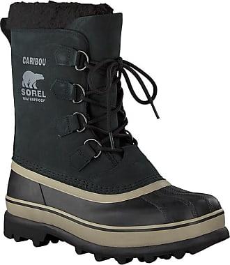 Sorel Ankle Wl Boots Caribou Schwarze rXXUvZT