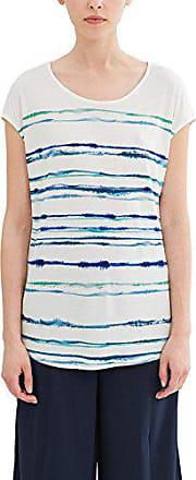 38 Femme Fabricant shirt Esprit 047eo1k018 taille Medium Multicolore White T off qFz0znB