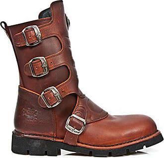 light 1471 New Size M Retro Women Rock Leather R5 Comfort Men 37 Brown 8qZ8I
