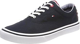 Light Bleu Basses Hilfiger Tommy midnight Femme Sneaker 403 Textile Weight Sneakers Eu 40 6qHxExUwf