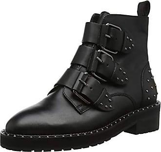 5669002b3c 00078 Office Leather black Donna Stivaletti Eu 36 Aviator Black wzaYq
