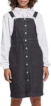 Fabricante Ladies Mujer black Classics Dress Del Falda Denim Negro Washed Dungarees talla Para Urban Large 42 00709 5wgqZT