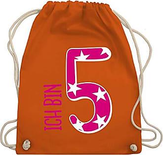 Bin 5 Mädchen Rosa Ich Turnbeutel Wm110 Kind amp; Unisize Orange Shirtracer Bag Geburtstag Gym Ff1qStA