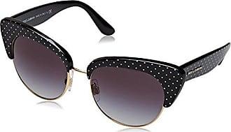 Gabbana On Nero Da gradient pois amp; Donna Sole Black Dolce 0dg4277 31268g White 52 Occhiali 57zxT